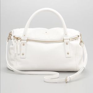 Kate spade small leslie white